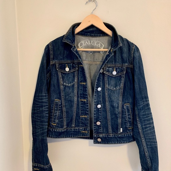 Aritzia Talula Jean jacket
